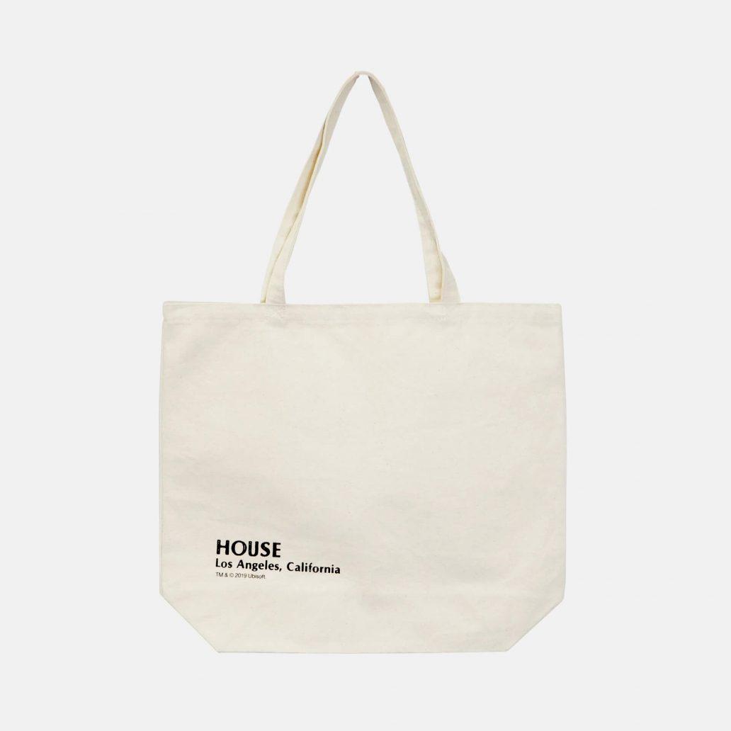 ユービーアイソフトの商品の背面の写真 レインボーシックス シージ HOUSE トートバッグ