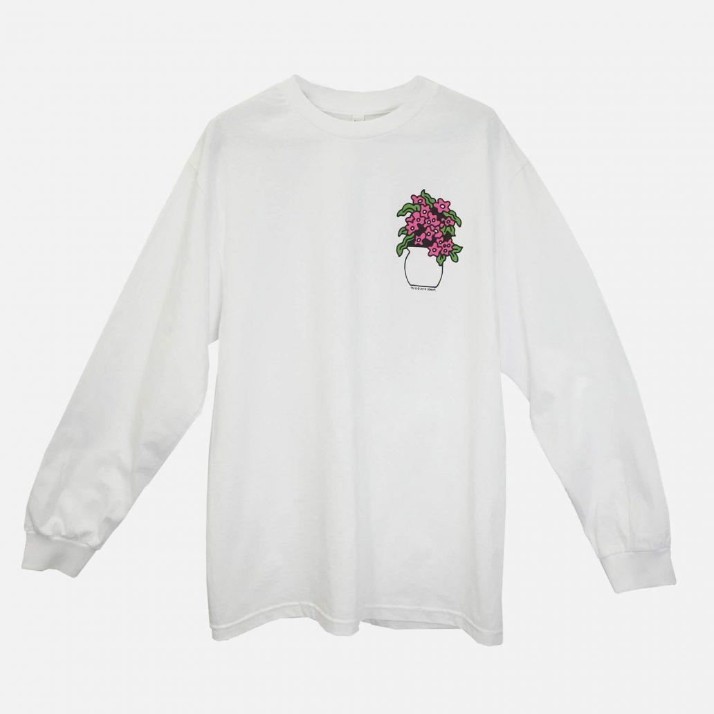 ユービーアイソフトの商品の正面写真 ユービーアイソフト FLOWER ロングTシャツ