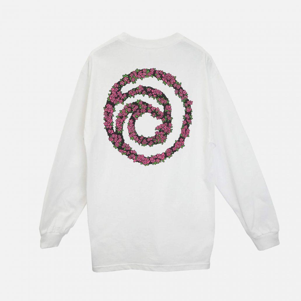ユービーアイソフトの商品の背面の写真 ユービーアイソフト FLOWER ロングTシャツ