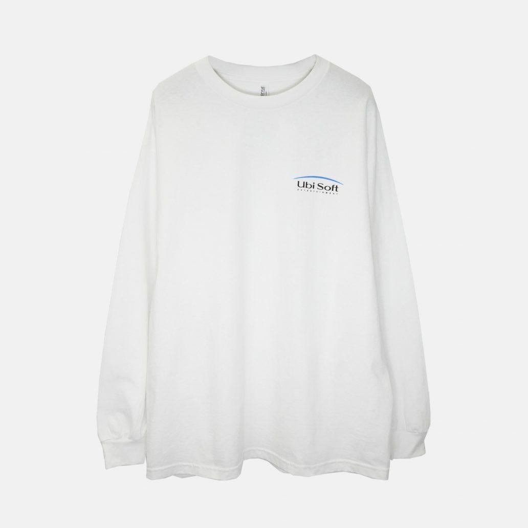 ユービーアイソフトの商品の正面写真 ユービーアイソフト 90's ロングTシャツ